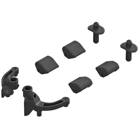 ARRMA BODY MOUNTS 4X4