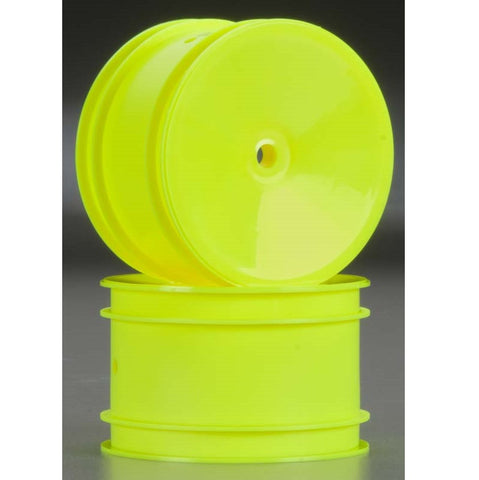 ASSOCIATED REAR WHEEL YELLOW
