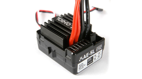 AXIAL AE-5L ESC W LIGHT PORTS