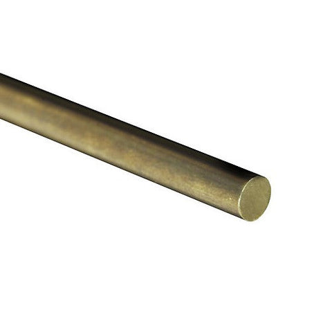 "SOLID BRASS ROD (36"") 1/16"""