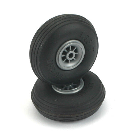 DUBRO TREADED WHEELS 1 3/4""