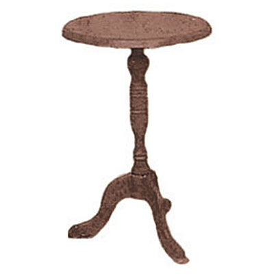 ACCENT TABLE BROWN