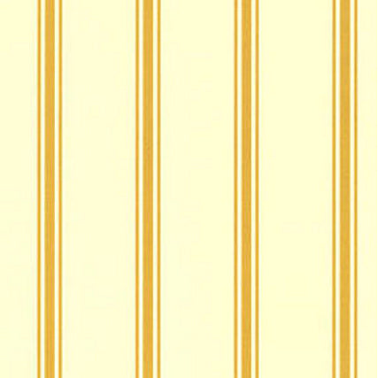 WALLPAPER URN GOLD STRIPE