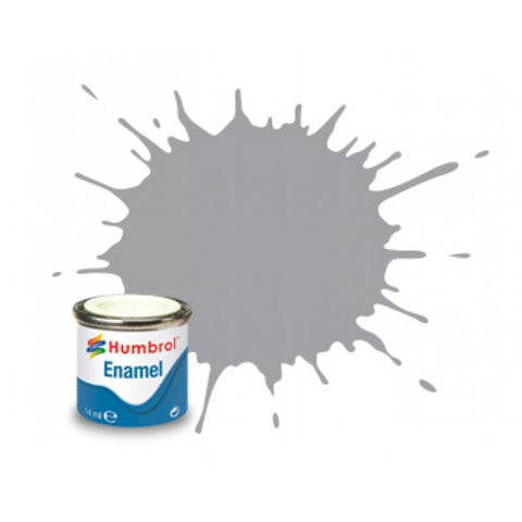 1/2OZ ENAMEL GREY PALE GLOSS