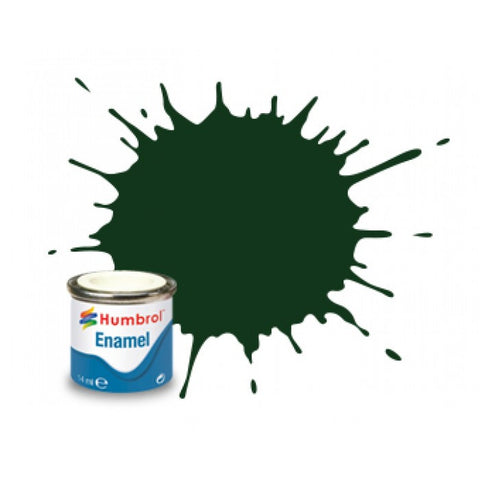1/2OZ ENAMEL GREEN DARK SATIN