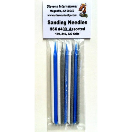 SANDING NEEDLES ASSORTED