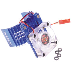 INTEGY MOTOR HEATSINK BLUE