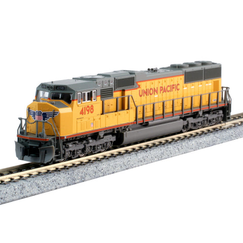 N SD70M DCC UP #4198