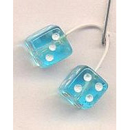 KENS 1/24 CLEAR BLUE DICE