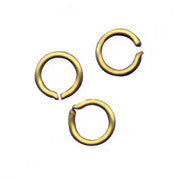 SPLIT RING BRASS 3/16""