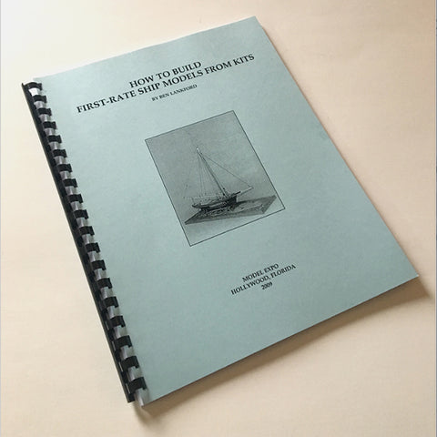 BOOK 1ST RATE SHIPS FROM KITS