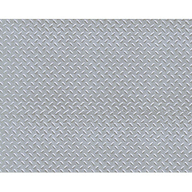 ABS HO SCL DIAMOND PLATE
