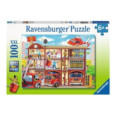 PUZZLE 100PC FIREHOUSE FRENZY