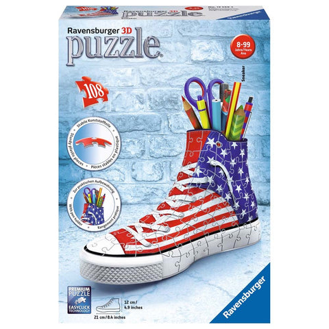 PUZZLE 3D SNEAKER AMERICAN