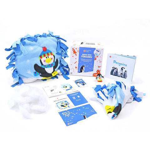 BUILD A PENGUIN PILLOW