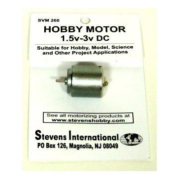 1.5 TO 3 VOLT SLOW RPMs MOTOR