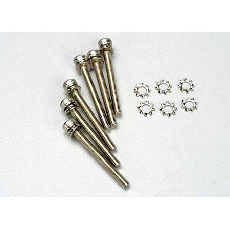 TRAXXAS SCREWS 3X28MM