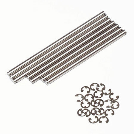 TRAXXAS SUSP. PINS STAINLESS