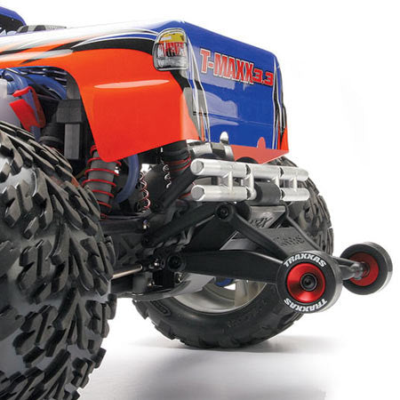 TRAXXAS RED WHEELIE WHEELS