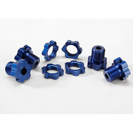 TRAXXAS BLUE REVO 17MM HUBS