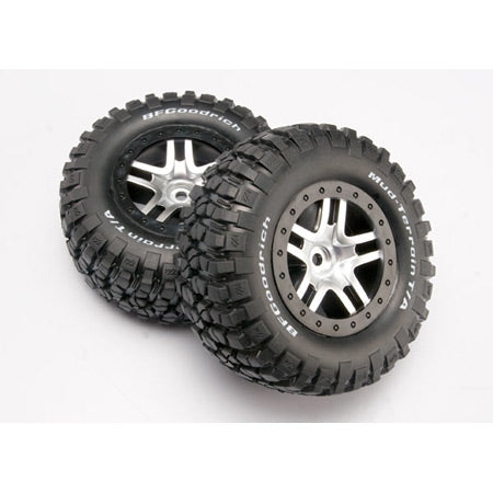 TRAXXAS PREGLUED TIRES 4X4