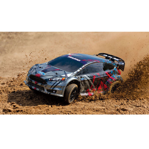 TRAXXAS RALLY FORD FIESTA 1/10