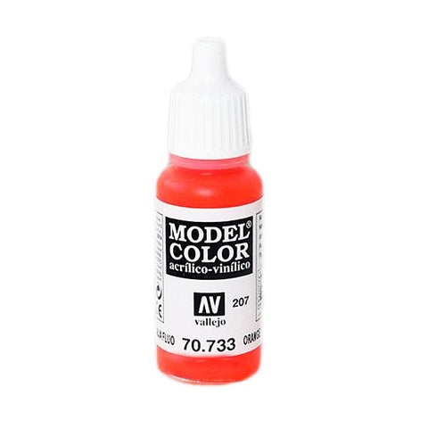 17ML #207 ACRYLIC ORANGE FLUO