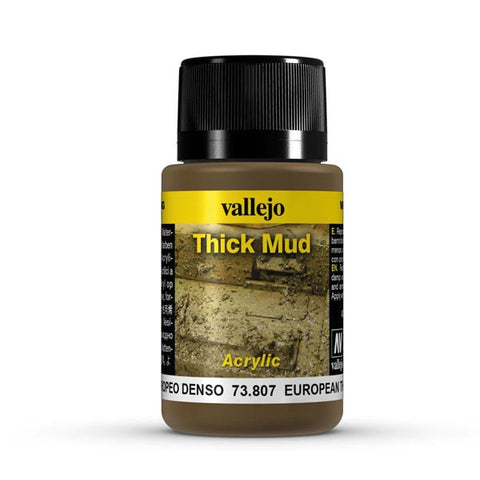 40ML EUROPEAN THICK MUD