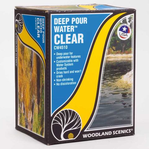 DEEP POUR WATER CLEAR 12 OZ