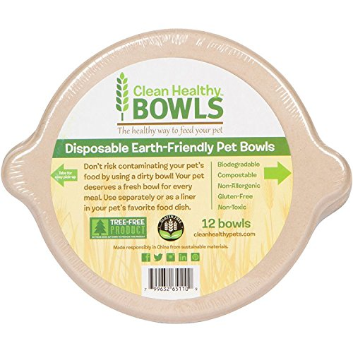 Disposable, earth friendly bowls make raw feeding easy!