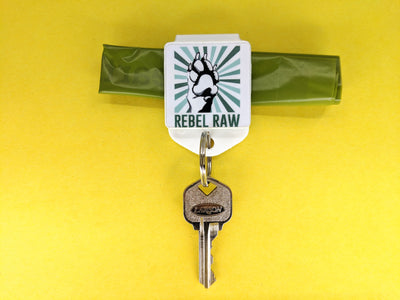 Magnetic Dog Bag Key Clip