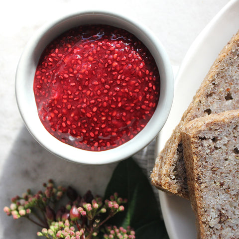 raspberry chia jam - RUBY