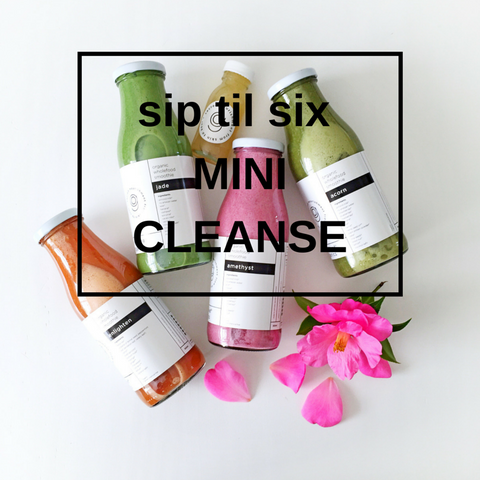 sip til six mini cleanse