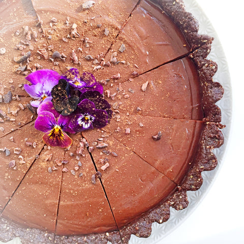 superfood chocolate raw torte