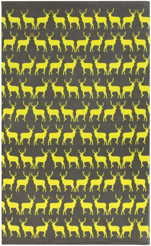 Kissing Stags Beach Towel