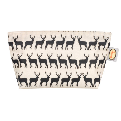 Anorak Kissing Stags Cosmetic Bag