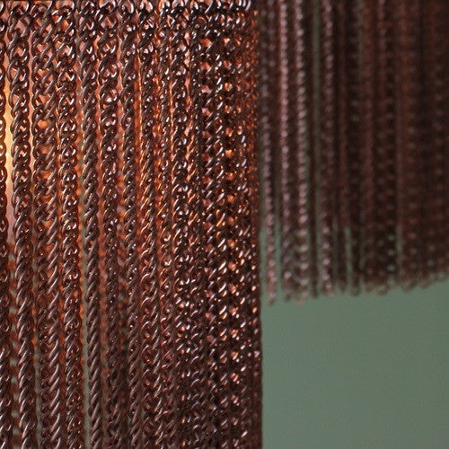 Copper Chain Maxi Pendant