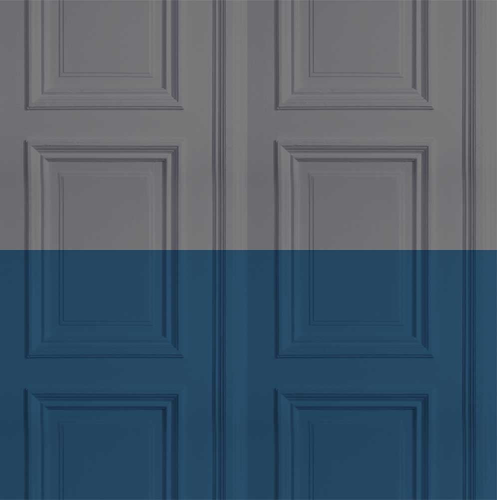 Colourblock Paneling Wallpaper