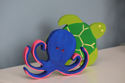 Sea Creature Shelf Decor