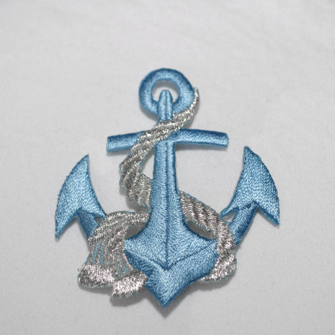 Anchor Iron-On Patch Applique - ADD ON - Flutter Bunny Boutique, LLC  - 1