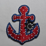 Anchor Iron-On Patch Applique - ADD ON - Flutter Bunny Boutique, LLC  - 4