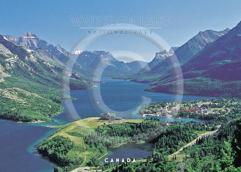 Waterton Vista 5x7 Card