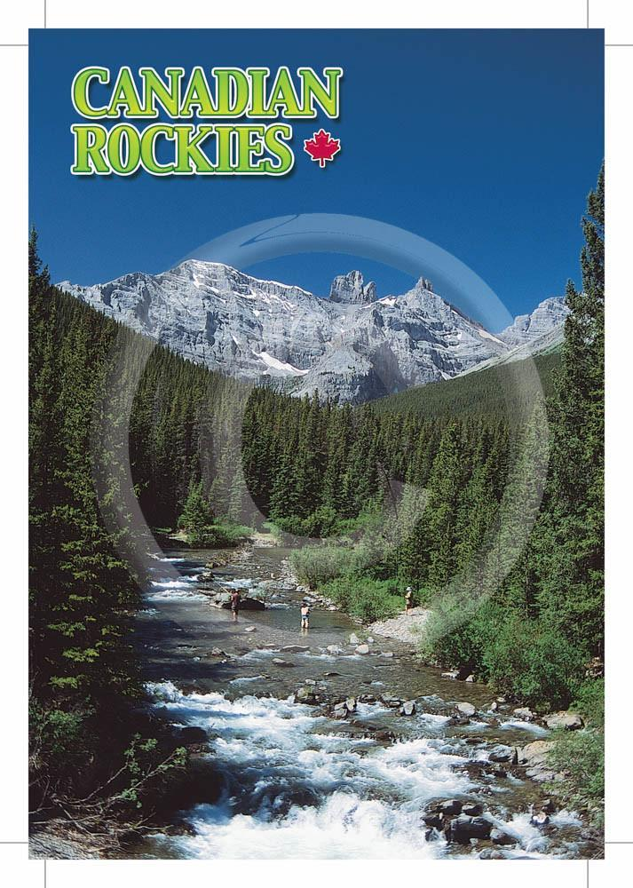 Rockies Fishing 4x6 Card