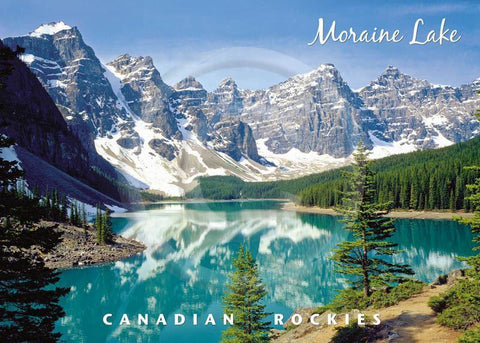 Moraine Lake 5x7 Card