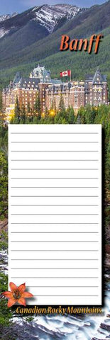 Banff Springs Hotel Notepad
