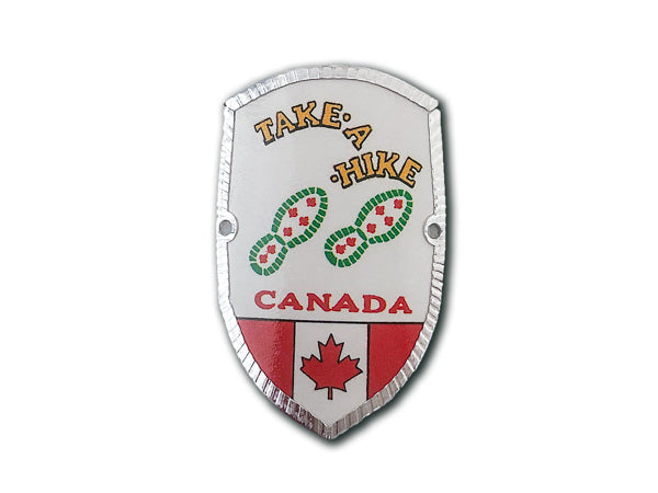 "Canada ""Take a Hike"" Hike & Bike Medallion"