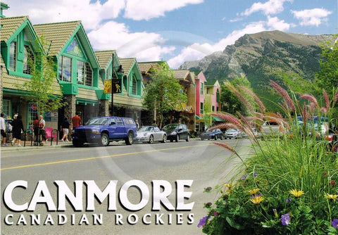Canmore Main Street 5x7 Card