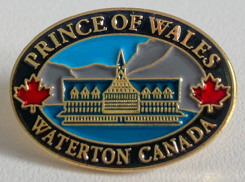 Prince of Wales Hotel Lapel Pin