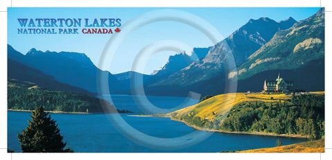Waterton National Park 4x9 Card