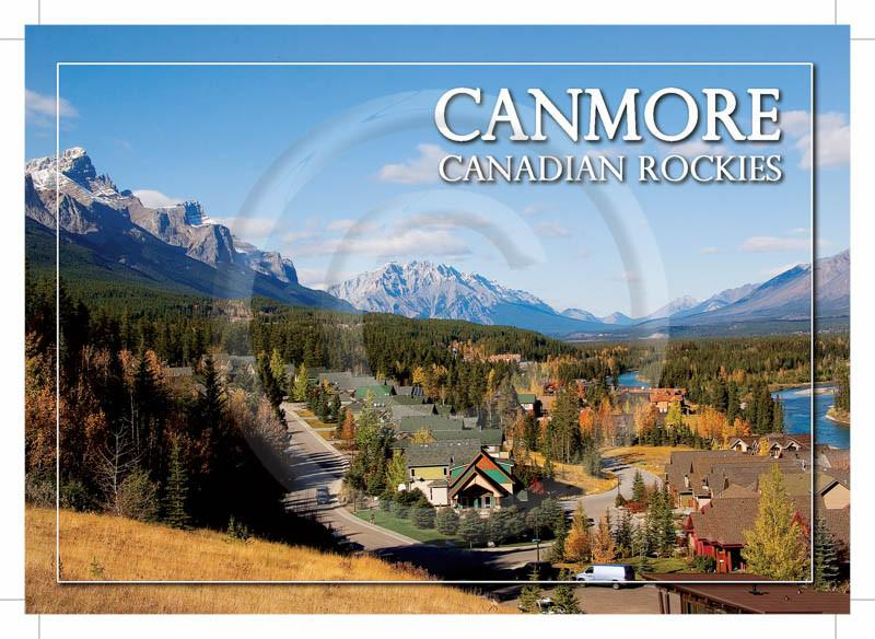 Canmore Fall 5x7 Card